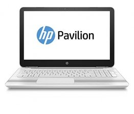 Laptop weiss hp pavilion